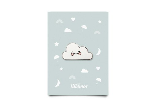 Eef Lillemor animal pin - cute cloud