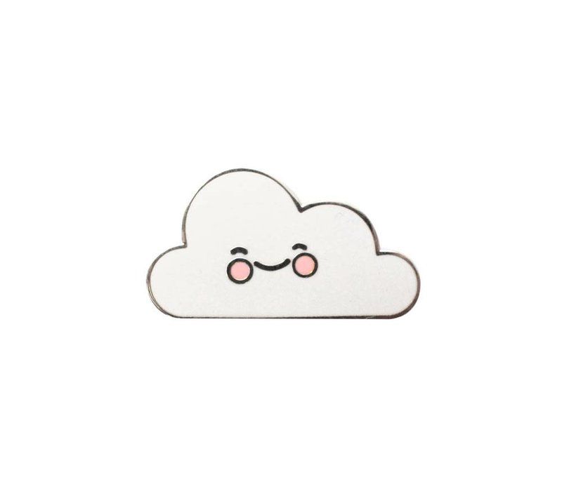 animal pin - cute cloud