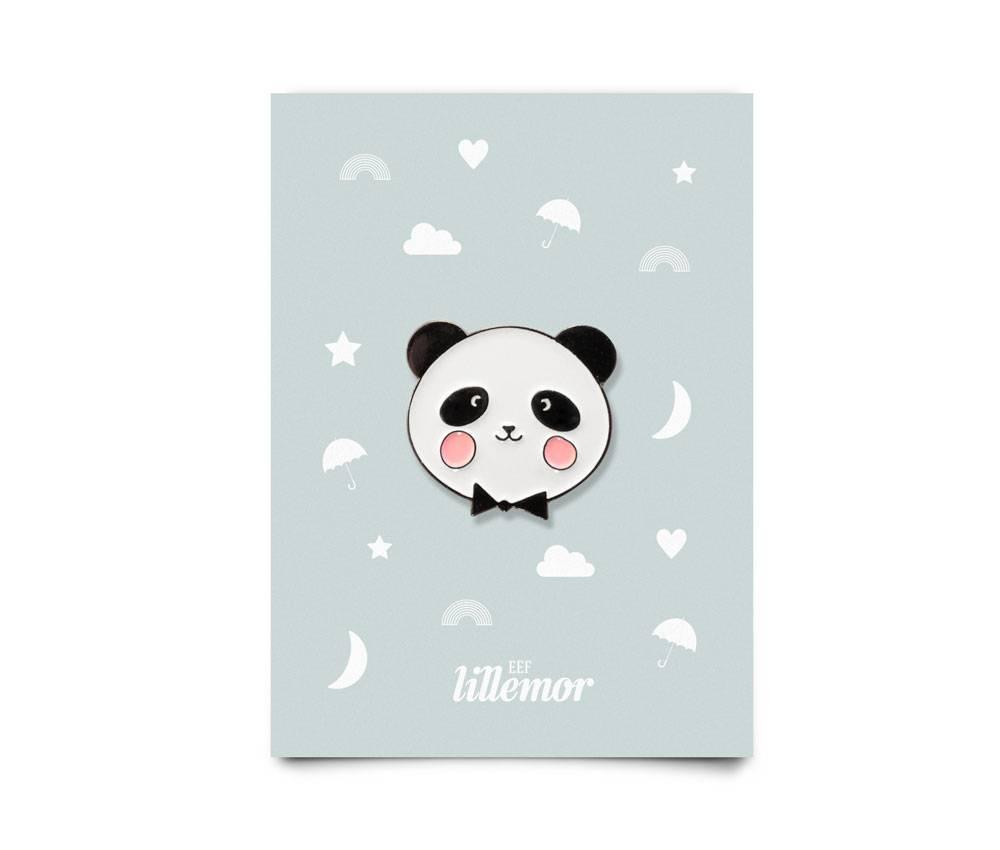 animal pin - adorable panda-1