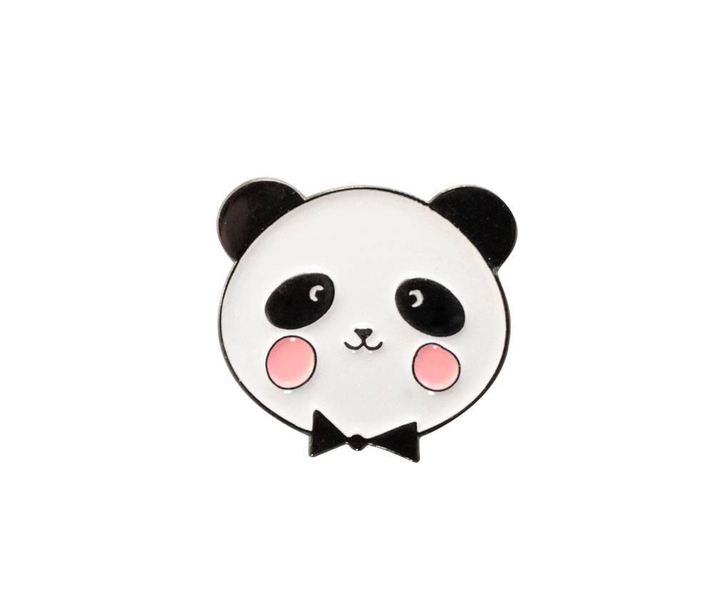 animal pin - adorable panda-2