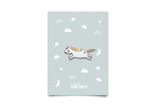 Eef Lillemor animal pin - hopping unicorn