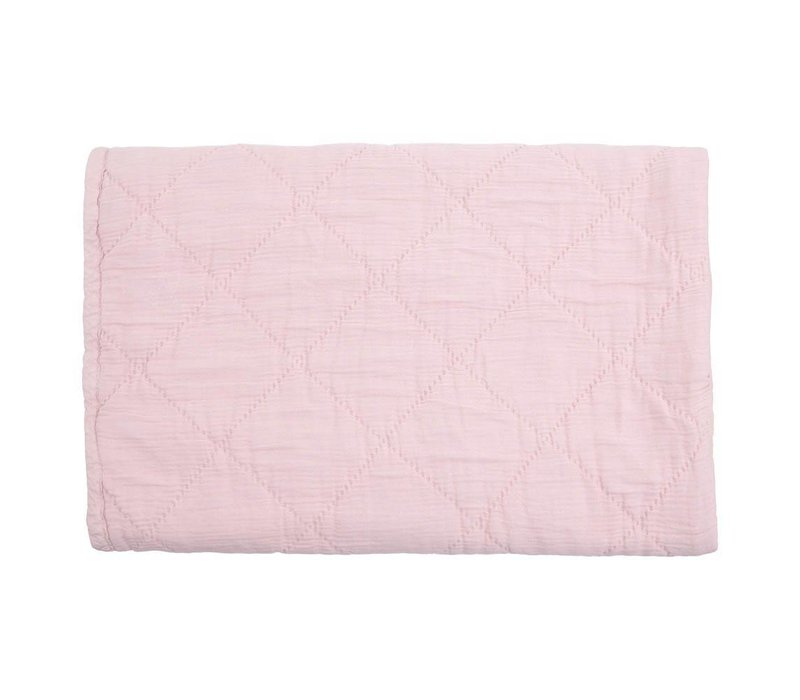 quilt alma - light pink 80x100