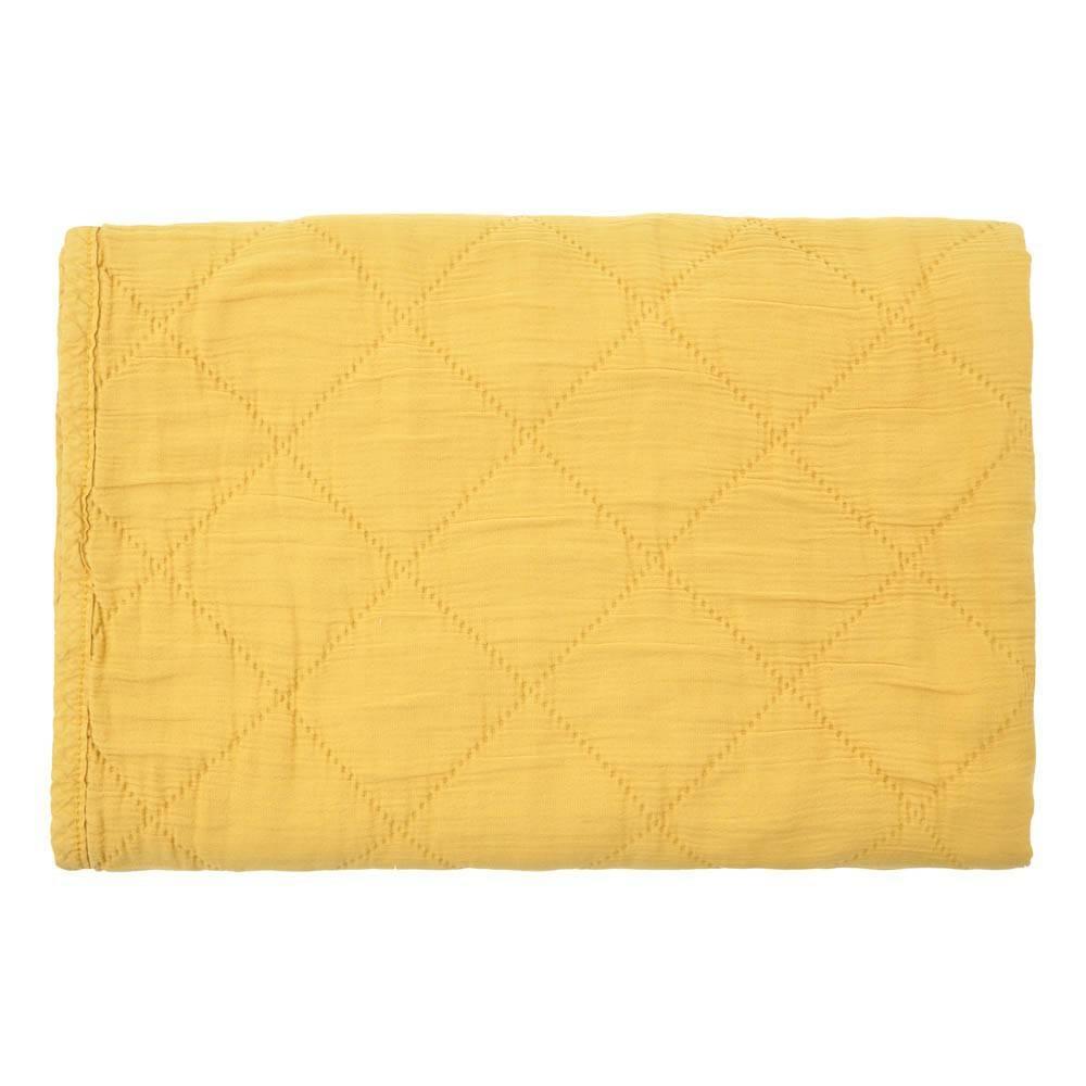 quilt alma - ceylan yellow 80x100-1