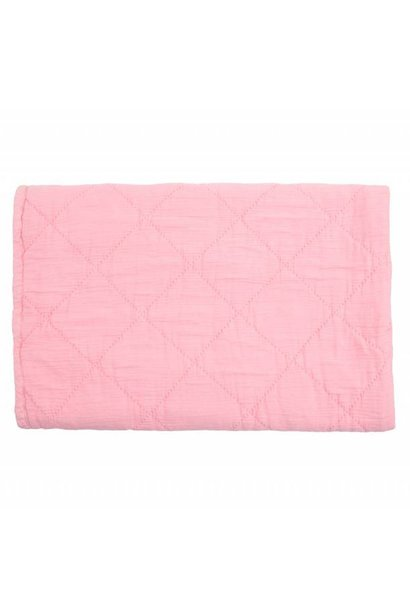 quilt alma - coral pink