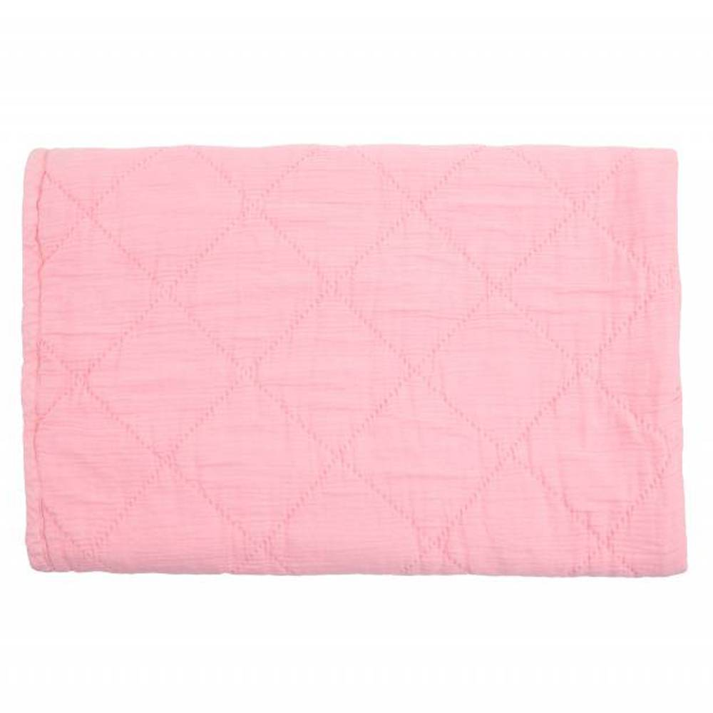quilt alma - coral pink 80x100-1