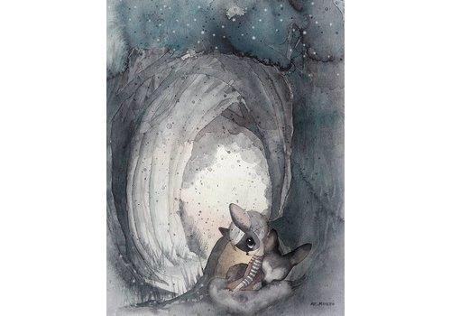 Mrs Mighetto secret tunnel - 30x40