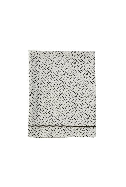 wieglaken - cozy dots offwhite 80x100