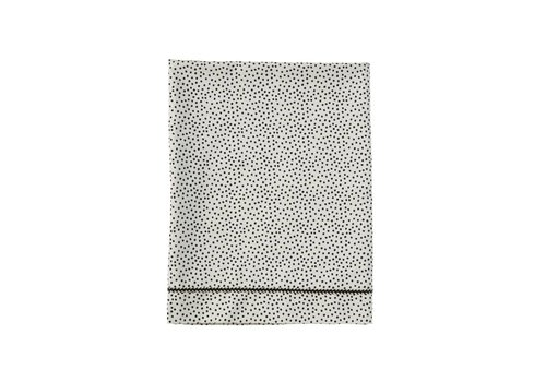 Mies & Co wieglaken - cozy dots offwhite 80x100