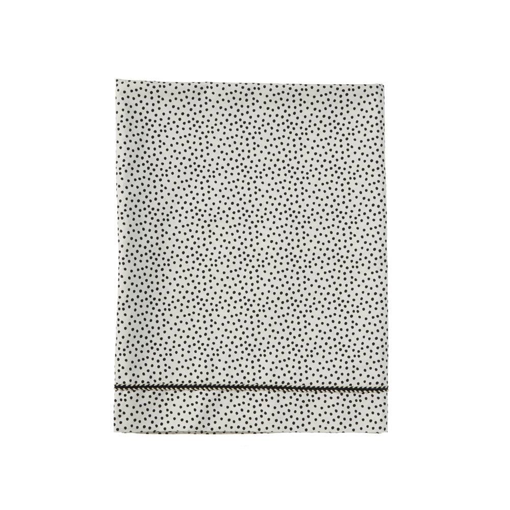 wieglaken - cozy dots offwhite-1