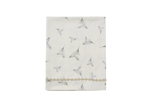Mies & Co ledikant laken - little dreams offwhite 110x140
