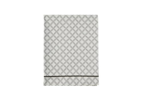 Mies & Co ledikant laken - geo circles offwhite 110x140