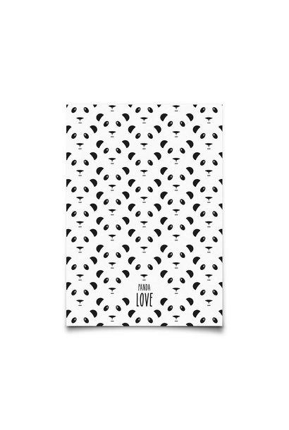 panda love - kaart