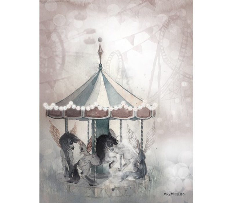 2- pack carousel/miss lola - 18x24