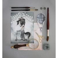 2- pack carousel/mr william - 18x24