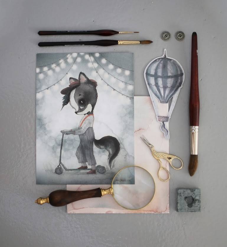 2- pack carousel/mr william - 18x24-5