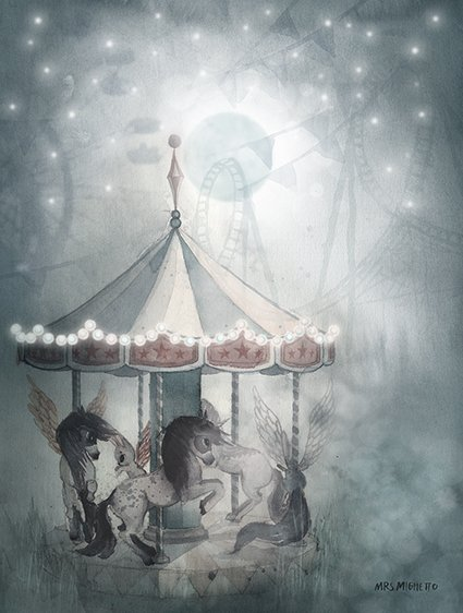 2- pack carousel/mr william - 18x24-2