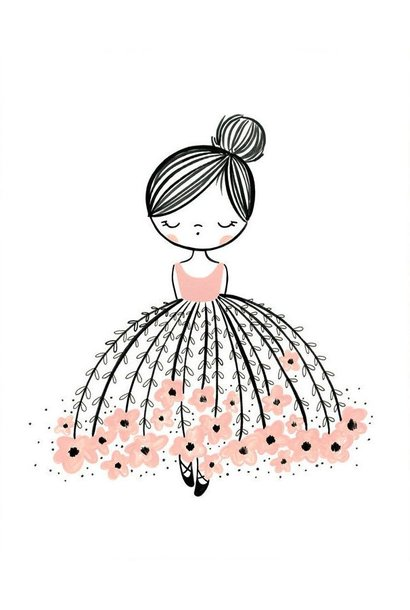 flower dress dreamer print