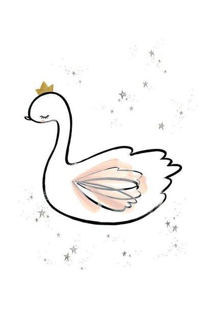 swan princess print