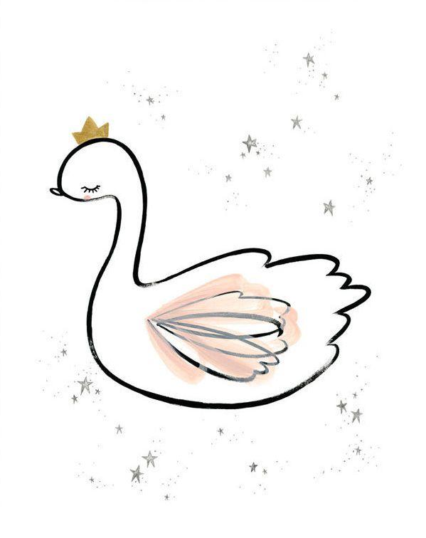 swan princess print-1