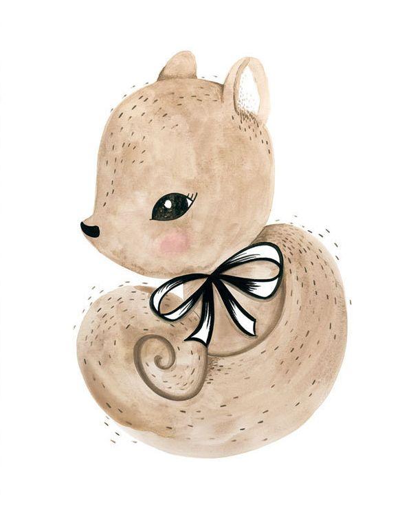 squirrel print-1