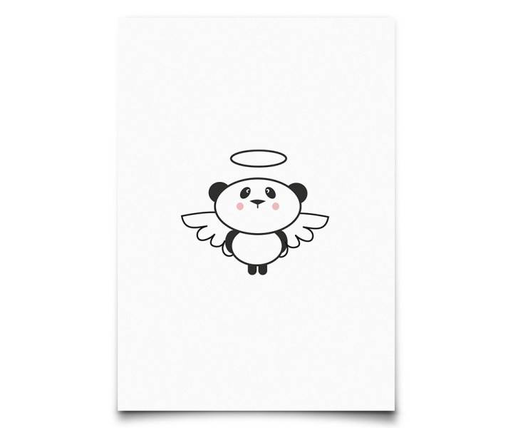 Kaart : Panda angel-1