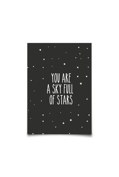 You are a sky full of stars