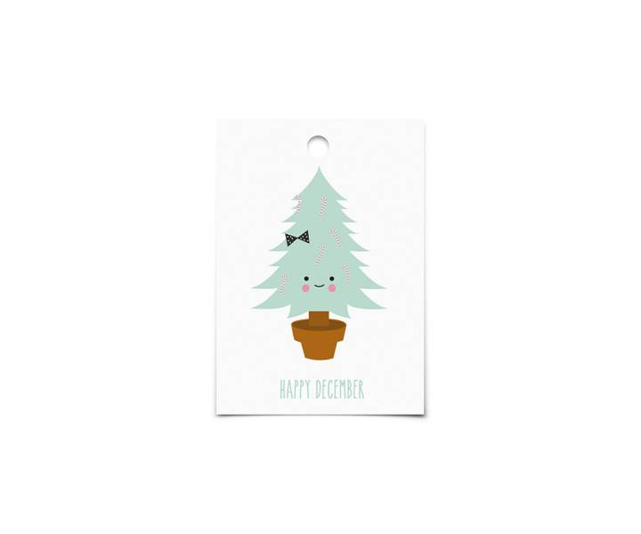Gift Tags : Happy December-2