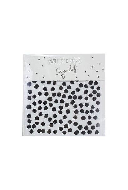 muurstickers cozy dots