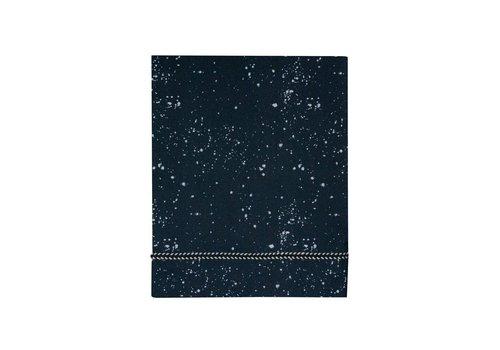 Mies & Co wieglaken - cradle galaxy parisian night 80x100