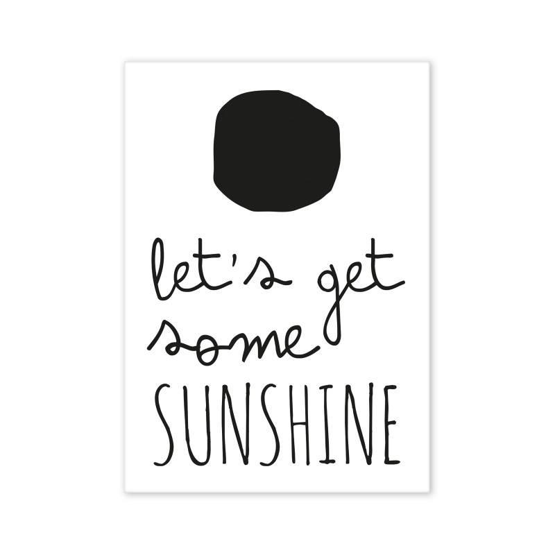 Postcard Let's get some Sunshine-1