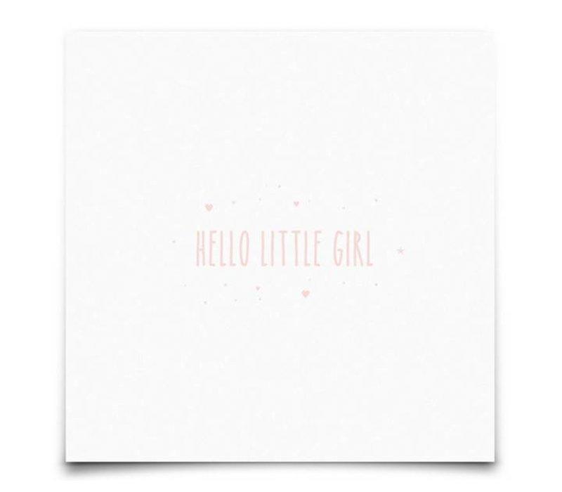 kaart : Hello Little Girl