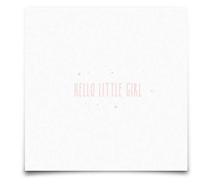 kaart : Hello Little Girl-2