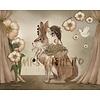 Mrs Mighetto Miss poppy - 50x40