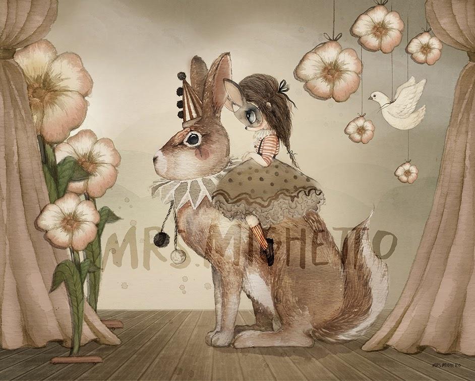 Miss poppy - 50x40-1