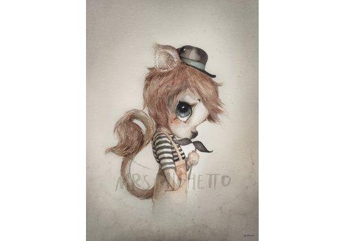 Mrs Mighetto mr elliott - 50x70