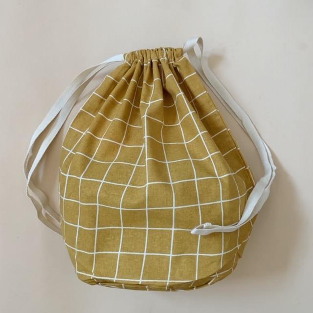 multibag big – mustard grid-1