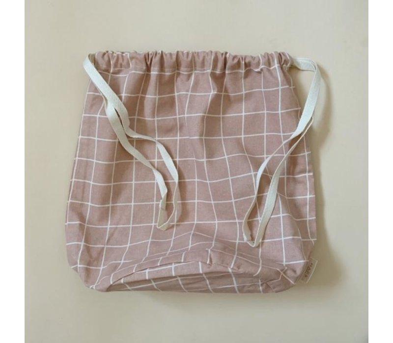 multibag big –  blush grid