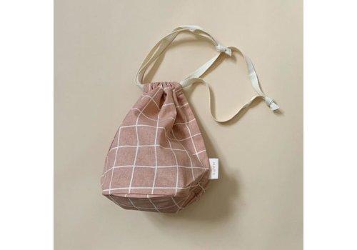 Haps Nordic  multibag small – blush grid