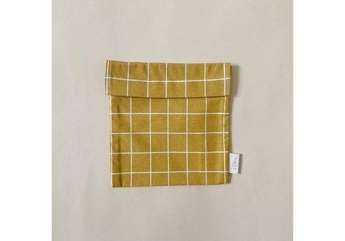 Haps Nordic  sandwich bag– mustard grid