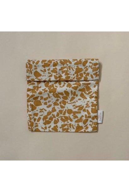 sandwich bag– mustard terrazzo