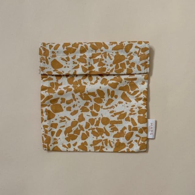sandwich bag– mustard terrazzo-1