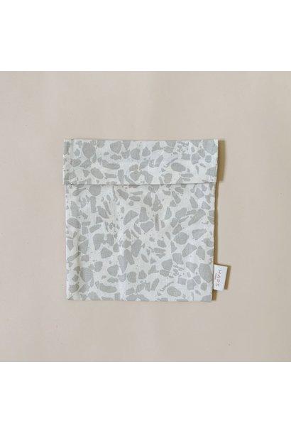 sandwich bag– grey terrazzo