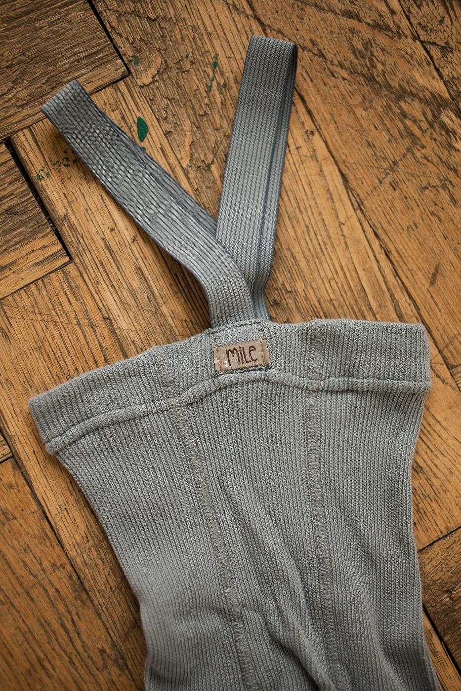 maillot met bretels - licht grijs-2
