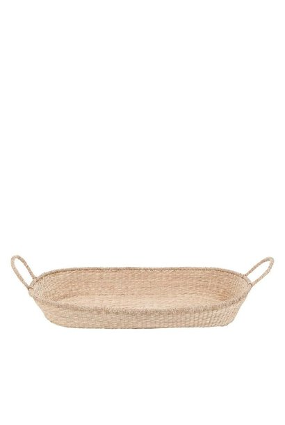 nyla oval changing basket