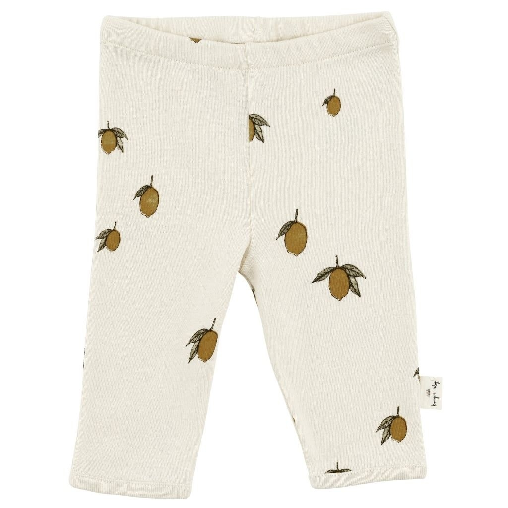 new born pants - lemon-1