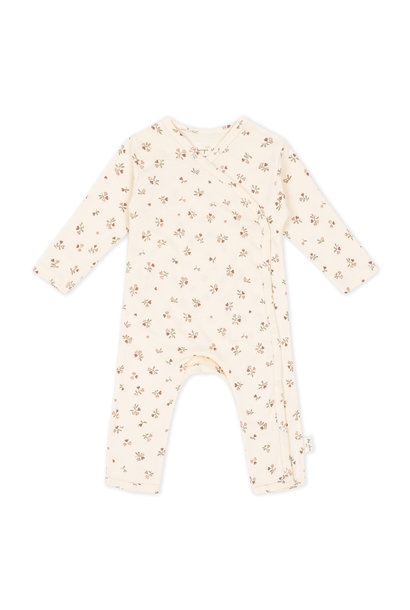 new born onesie petit amour rose