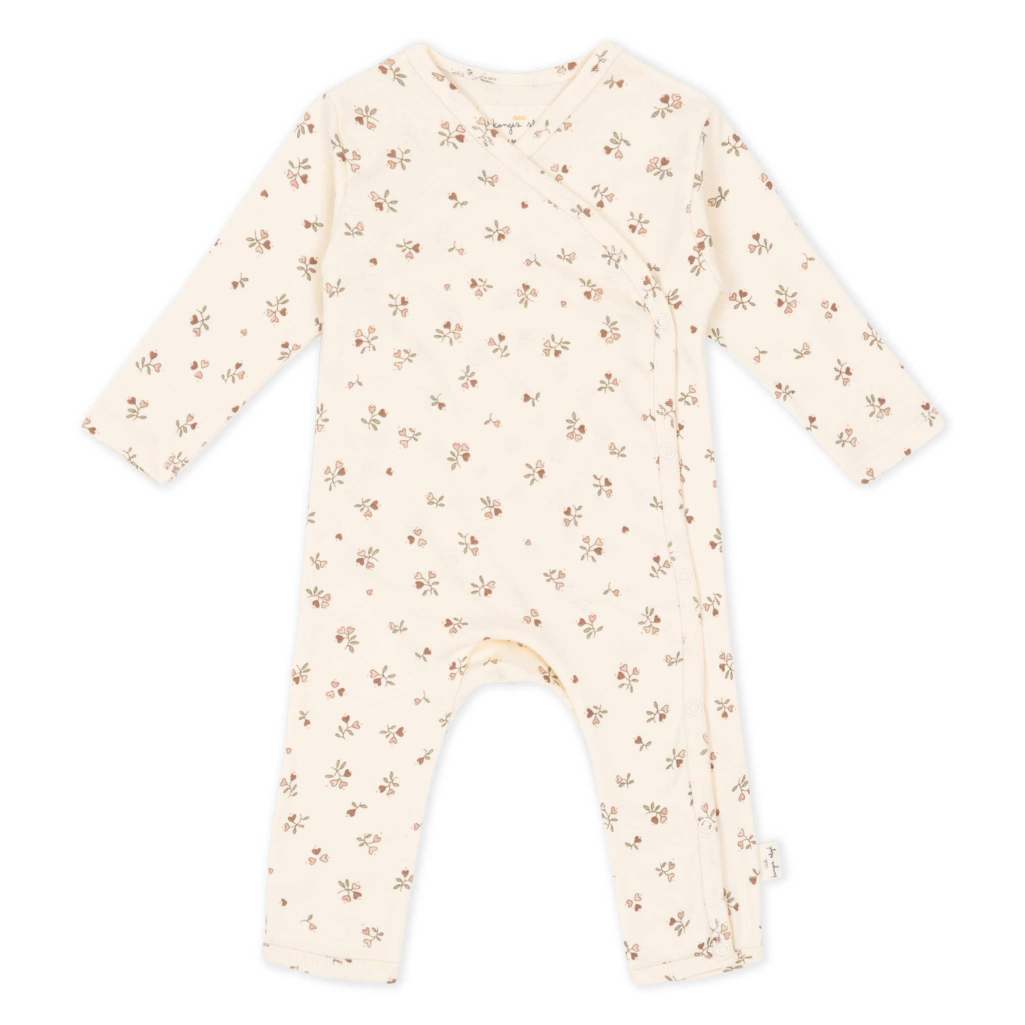 new born onesie petit amour rose-1