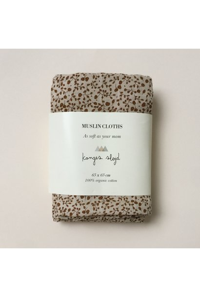 swaddles/hydrofiele doekjes - blossom mist birk set van 3