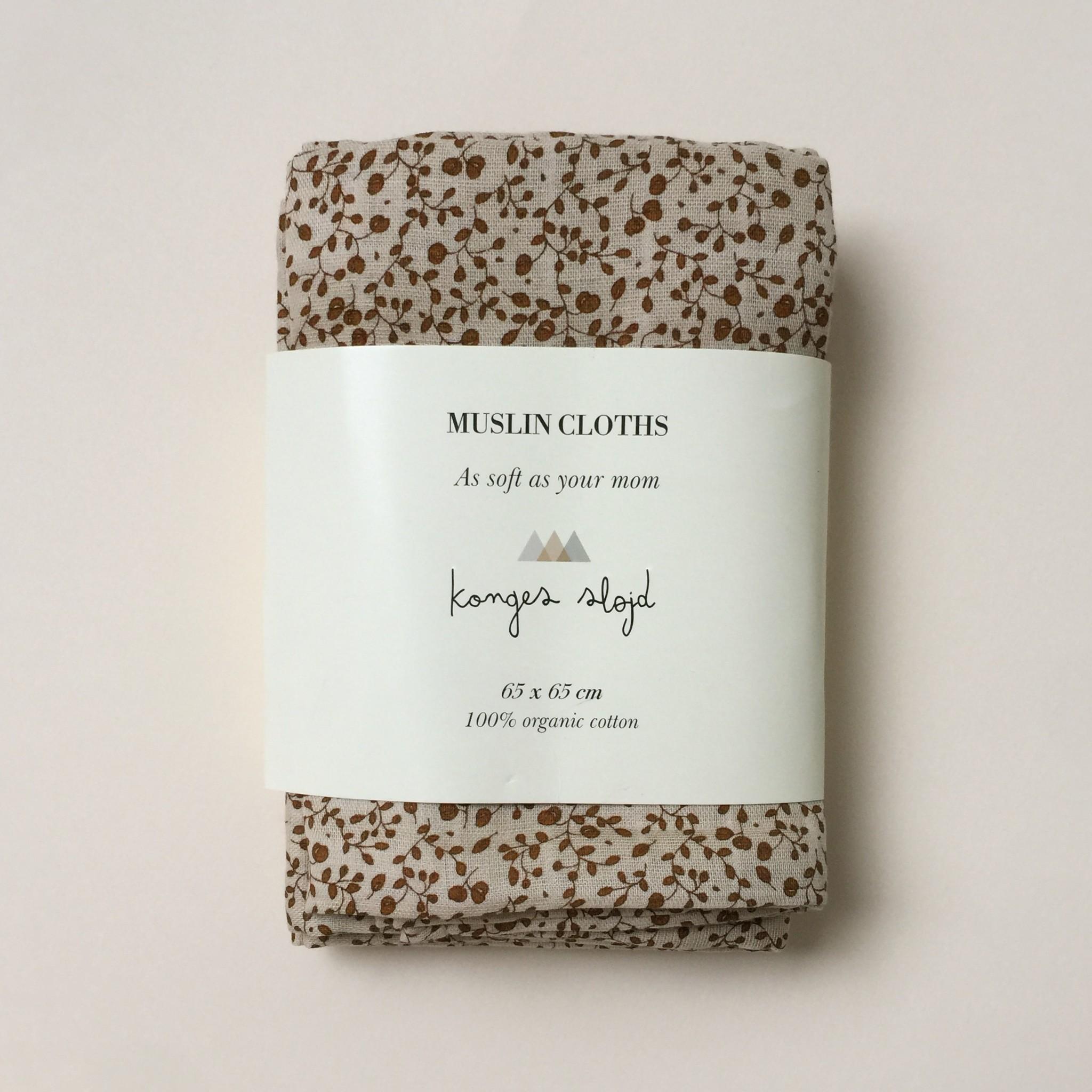 swaddles/hydrofiele doekjes - blossom mist birk set van 3-1