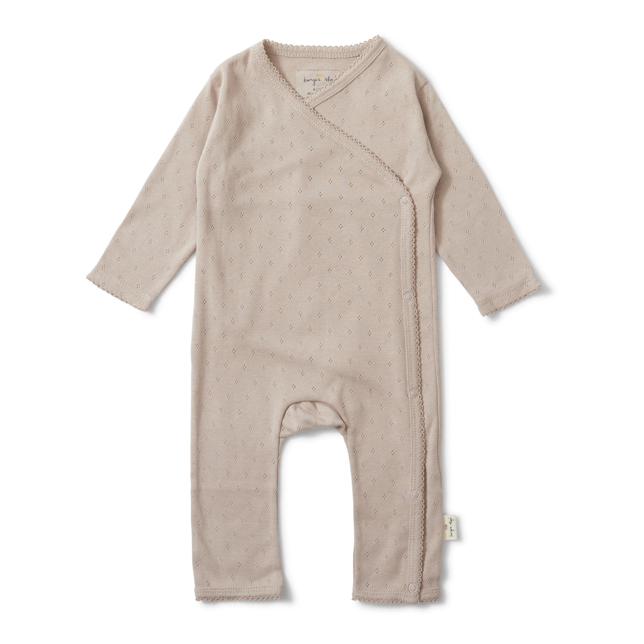 newborn  minnie onesie - rose grey-1